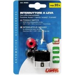 INTERRUPTEUR A LEVIER 12/24 V - Électricité