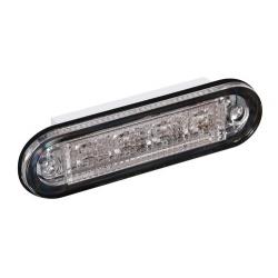 FEU 12/24V PREMIUM FLUSH LED ROUGE - Éclairage