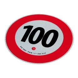 LIMITE VITESSE 100KM, REFLEX HOM. - Équipement camion