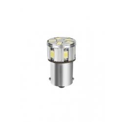 AMPOULE SPECIALE A LED P21W 10-30V BLANC - Éclairage