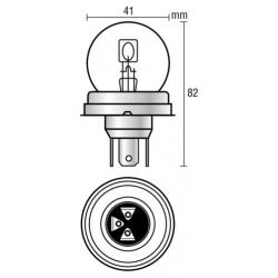 AMPOULE 12V 40/45W R2 - Éclairage