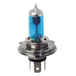 AMPOULES X2 H4 12V 60/55W XENON BLEU - Éclairage