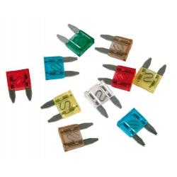CARTE MINI FUSIBLES ENFICHABLES ASSORTIS - Électricité