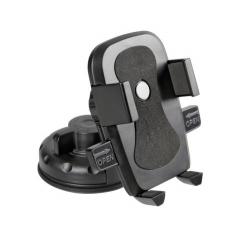 SUPPORT TELEPHONE AVEC VERROUILLAGE AUTOMATIQUE 75 MM + VENTOUSE - Téléphonie