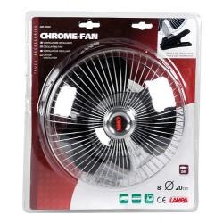 VENTILATEUR CHROME 24V - Ventilateurs