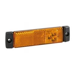 FEU AMBRE 3 LEDS 24V - Éclairage