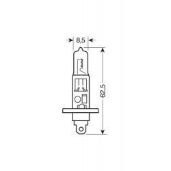 AMPOULES X2 24V H1 BLEU - 70W - Ampoules
