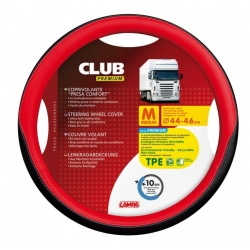 COUVRE VOLANT CLUB 44/46 ROUGE