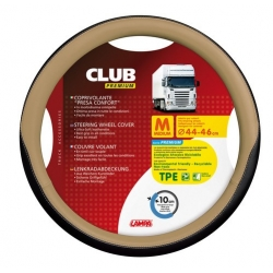 COUVRE VOLANT CLUB 44/46 BEIGE - Couvres volants