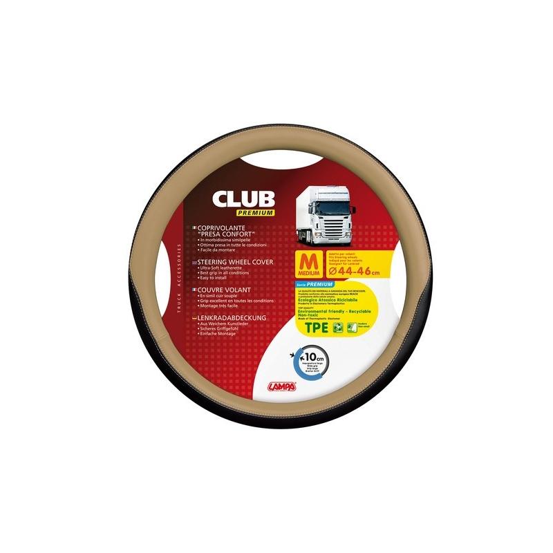 COUVRE VOLANT CLUB 44/46 BEIGE - Accueil