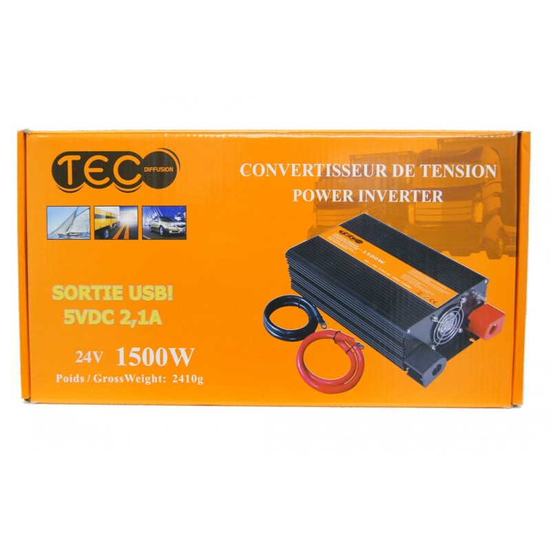 CONVERTISSEUR DE TENSION 24V 1500W Convertisseurs 3760259060190