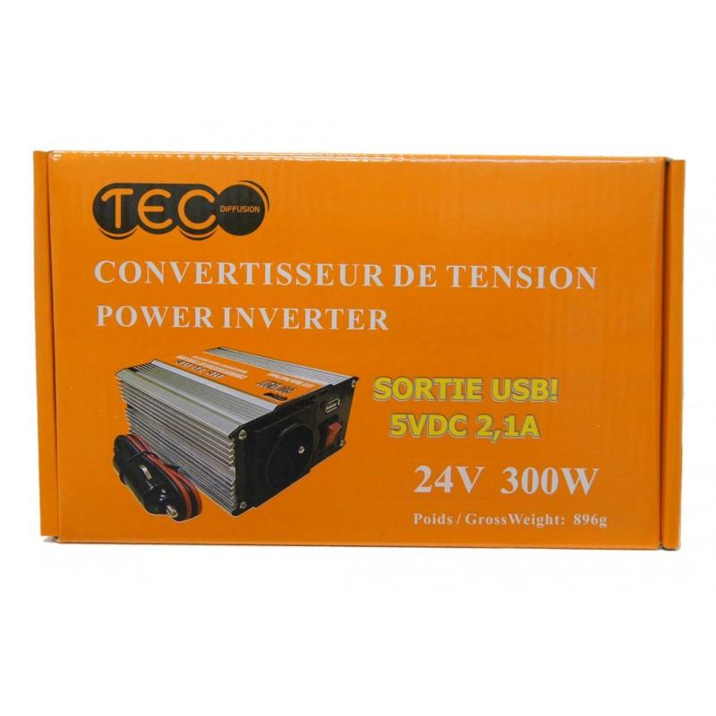 CONVERTISSEUR 300W 24V - Convertisseurs