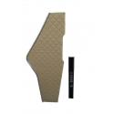TABLETTE LONGUE SIMILI CUIR RENAULT GAMA T - Tablette longue simili cuir