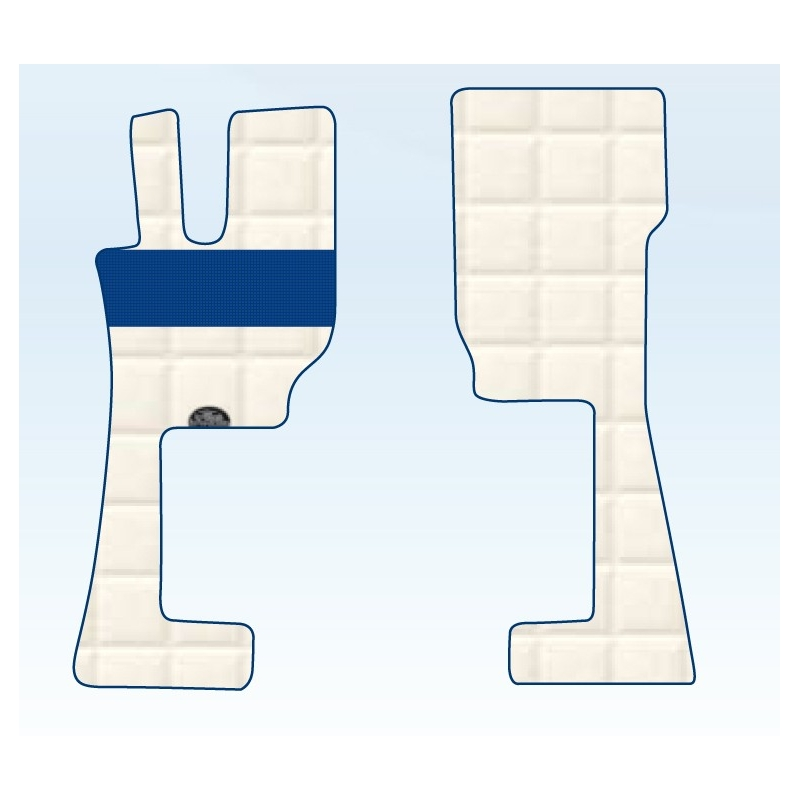 TAPIS CAMION VOLVO SIMILI CUIR - VOLVO FH cab T2 - T3 - T4 - Tapis camions