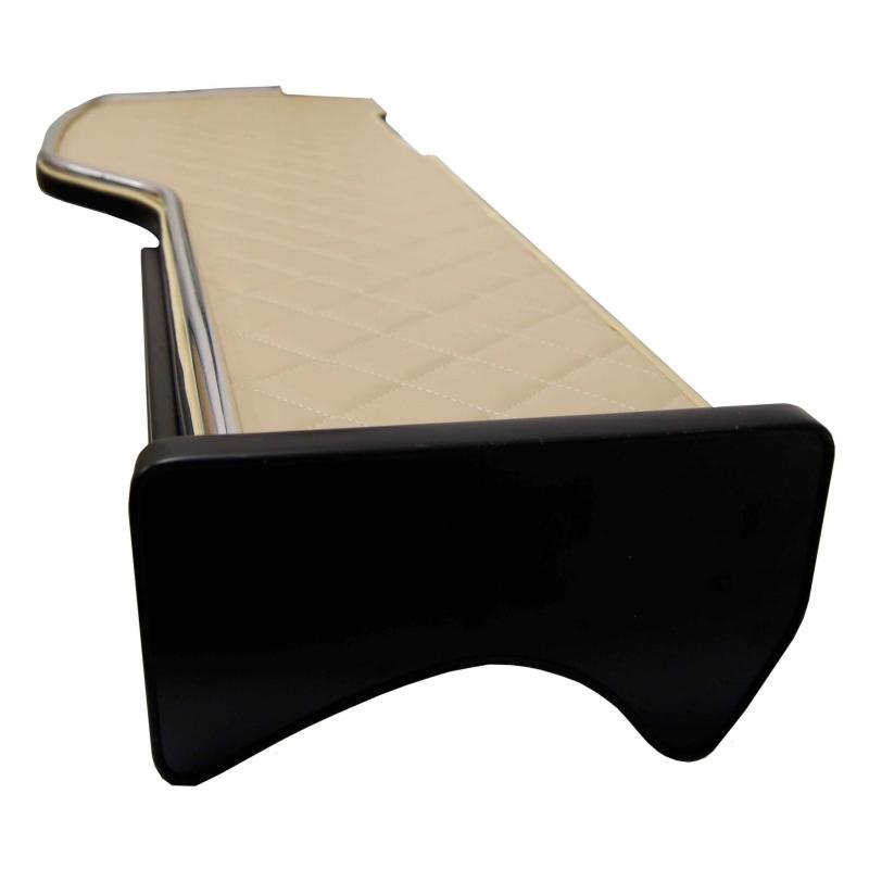 TABLETTE CAMION LONGUE SIMILI CUIR SCANIA de 2014 à 2017 - Tablette camion longue simili cuir