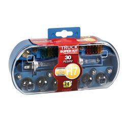 Kit ampoules de rechange 30 pc, halogène 2xH7 - 24V - Accueil