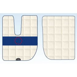 TAPIS ERNEST CAMION IVECO SIMILI CUIR - STRALIS/STRALIS HIWAY