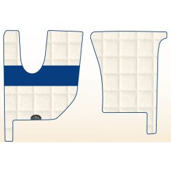 TAPIS ERNEST CAMION RENAULT SIMILI CUIR - T/KC - SLEEPER/ DAY / NIGHT and DAY