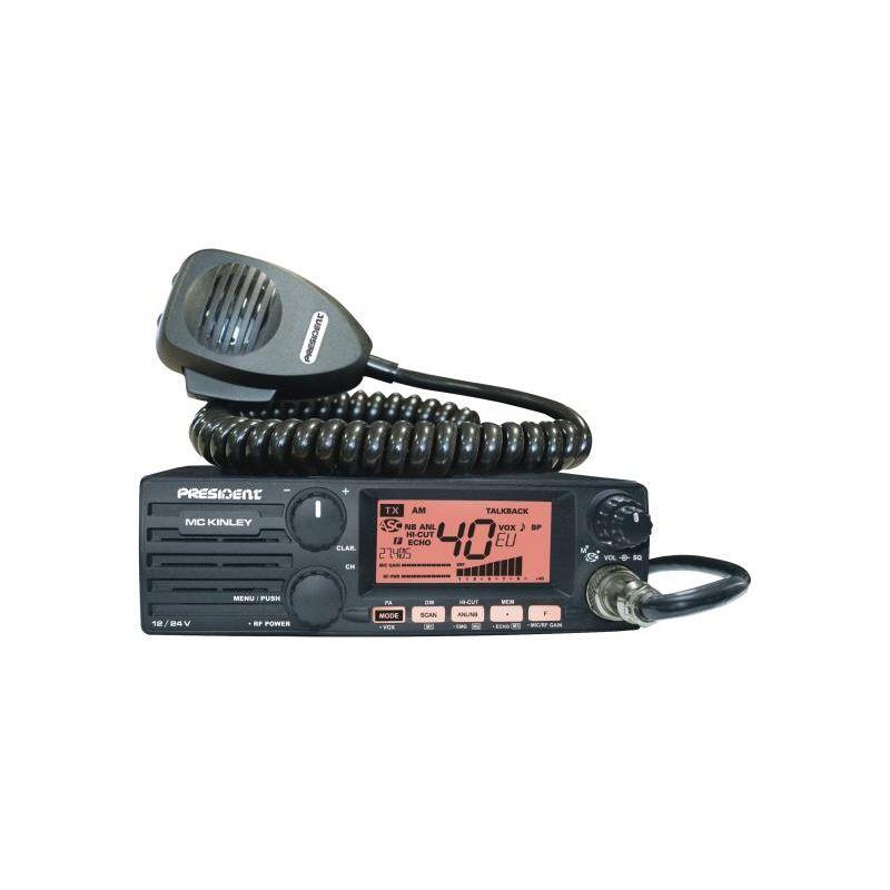 RADIO CB MC KINLEY 12/24V  AM/FM/SSB