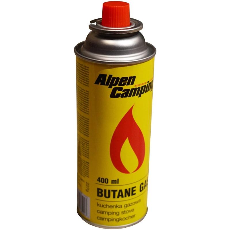 Carton de 28 rechages de gaz Alpen-camping - Accueil