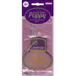 Désodorisant pendentif poppy lavande