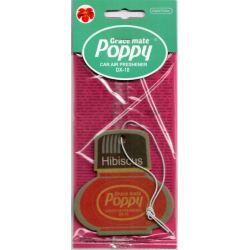 Désodorisant pendentif poppy hibiscus
