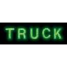 LETTRE LUMINEUSE POUR PLAQUE VENDU A L'UNITE - Décoration camion