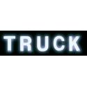 LETTRE LUMINEUSE POUR PLAQUE VENDU A L'UNITE Décoration camion