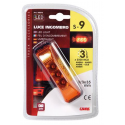 FEU D'ENCOMBREMENT 3LEDS ORANGE