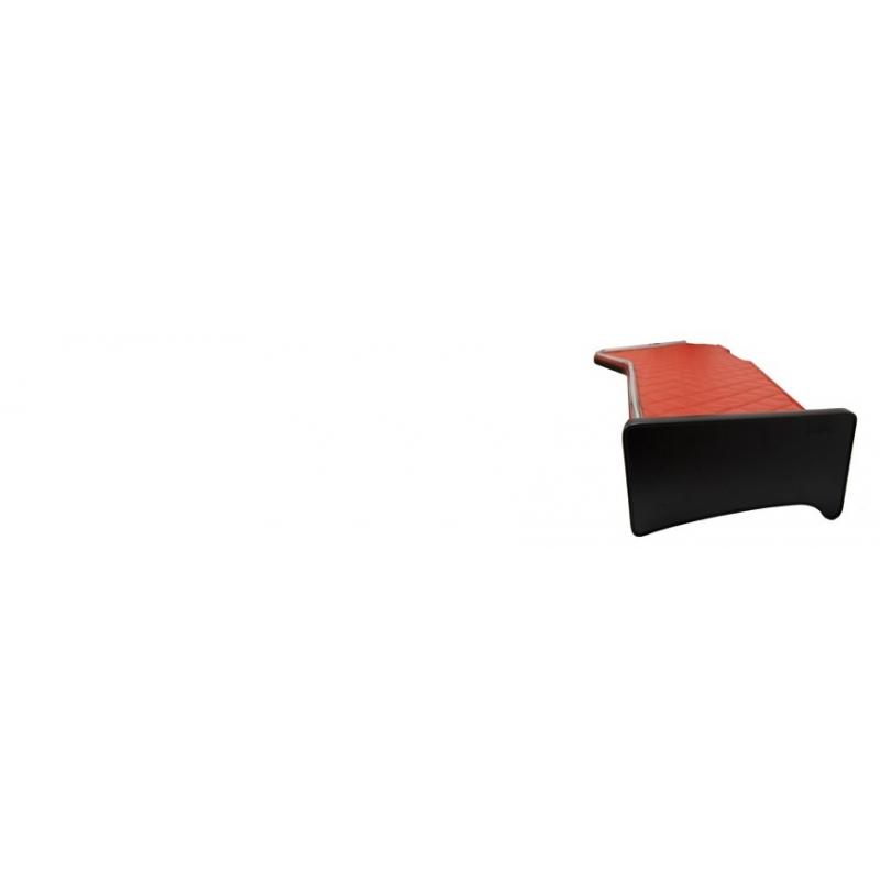 Tablette longue simili cuir pour camion et poids-lourd